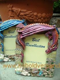 Set 3 Mini Drache Bronze