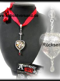 Strass Ring Spinne Hexe
